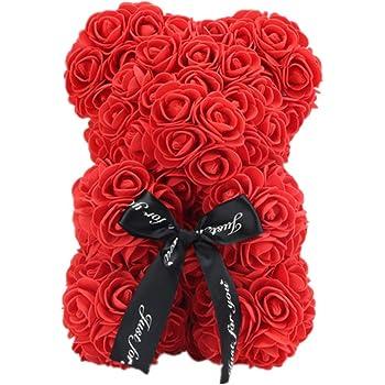 Rose Ours Large 35 cm Cadeau Enveloppé Dans Beaucoup De Couleurs