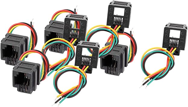 Jack wiring keystone rj11 Voice RJ11