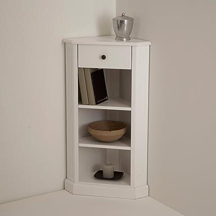 Amazon.it: mobile angolare - Bianco: Casa e cucina