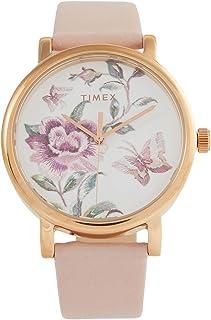 ساعة Timex النسائية Full Bloom 38 مم