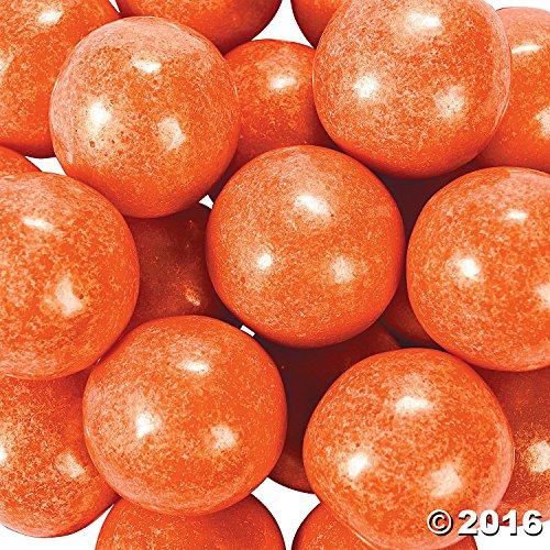 Large Shimmer Orange Gumballs 2 lb