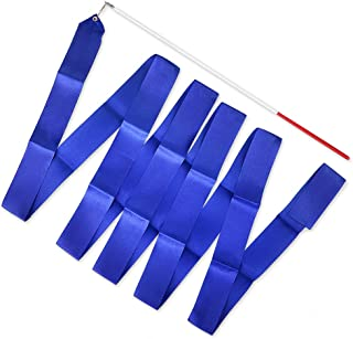 ACE SELECT Dance Ribbons with Wands 4m Rhythmic Gymnastics Ribbon Dance Streamer for Kids Baton Twirling