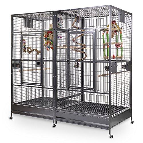 Montana Cages ® | Papageienkäfig, Papageienvoliere XXL Arkansas II - Antik