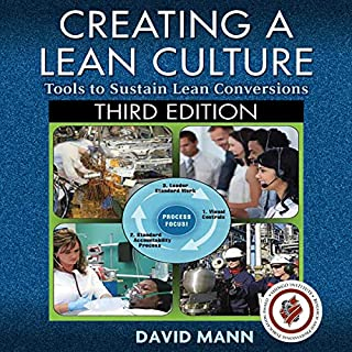 Creating a Lean Culture                   By:                                                                                                                                 David Mann                               Narrated by:                                                                                                                                 Douglas James                      Length: 11 hrs and 33 mins     Not rated yet     Overall 0.0