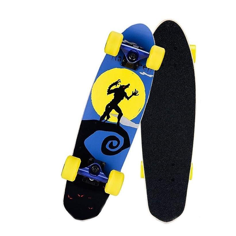 カヌースクリューエレメンタルスクーター、四輪ダブルツイストスケートボード、スケートボードデッキ、メープルダブルロッカービッグフィッシュボード、ブラシストリートバナナボードの代わりにブラシストリート魚会
