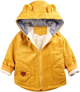 H.eternal(TM), Disfraz Infantil de Dibujos Animados de Invierno, Resistente al Viento, con Capucha, cálido, para Invierno, Ropa Esencial para niños