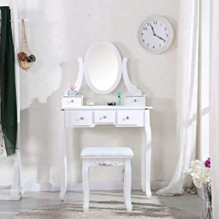Best makeup vanity furniture with lights Reviews