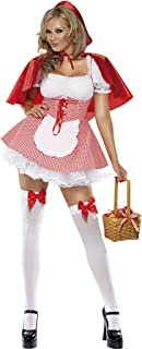 Plus Size S-6XL Women Little Red Riding Hood Fancy Dress Halloween Family Party Storybook Book Week Fantasia