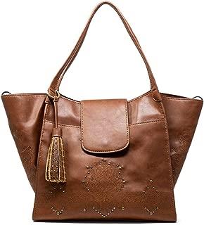 Luxury Fashion | Desigual Womens 19WAXPAABROWN Brown Tote | Fall Winter 19