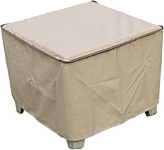 SORARA Rectangular Coffee/Side/End Table Cover Outdoor Porch Ottoman Table Cover, Water Resistant, 26