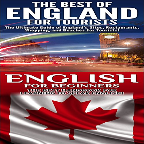 Travel Guide Box Set 2: The Best of England for Tourists & English for Beginners audiobook cover art
