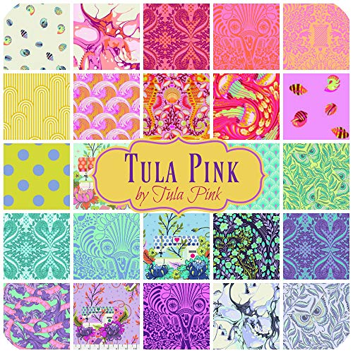 Tula Pink Scrap Bag (Approx 2 Yards) Quilt Fabric by Tula Pink for Free Spirit