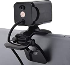 Yuxahiugstx USB HD Webcam, External PC Laptop Desktop Web Camera, Live Streaming Cam, Plug and Play Video Calling PC Webca...