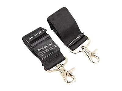 petunia pickle bottom Valet Stroller Clips (Black) Diaper Bags