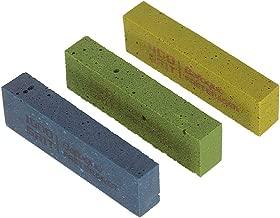 Muslady Guitar Fret Polishing Erasers Abraisive Rubber blocks for Polishing Fret Wire 180 Grit & 400 Grit &1000 Grit Set of 3pcs Guitar Maintain Tool Kits