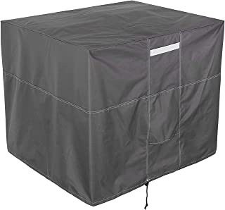 Yesland Square Air Conditioner Cover - 34 x 34 x 30 Inches - Durable AC Cover Water Resistant Fabric Windproof Design for ...