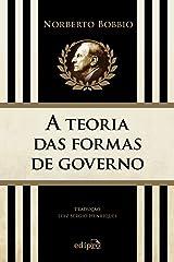 A teoria das formas de governo na história do pensamento político Capa comum