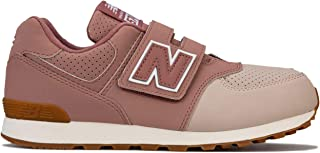 New Balance Junior Girls 574 Trainers Sneakers in Dusky Pink