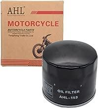 AHL 153 Oil Filter for Ducati Multistrada 1200 1198 2010-2017 (Black)