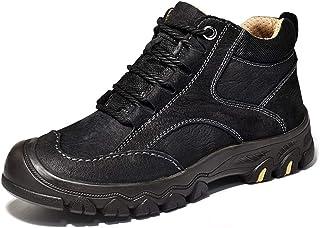 هدايا رجالية FEIHAIYANydx ، أحذية المشي لمسافات طويلة للرجال أحذية تسلق رياضية في الهواء الطلق برباط جلد حقيقي مقاوم للماء...