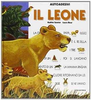 Perfect Paperback Il leone. Con sticker [Italian] Book