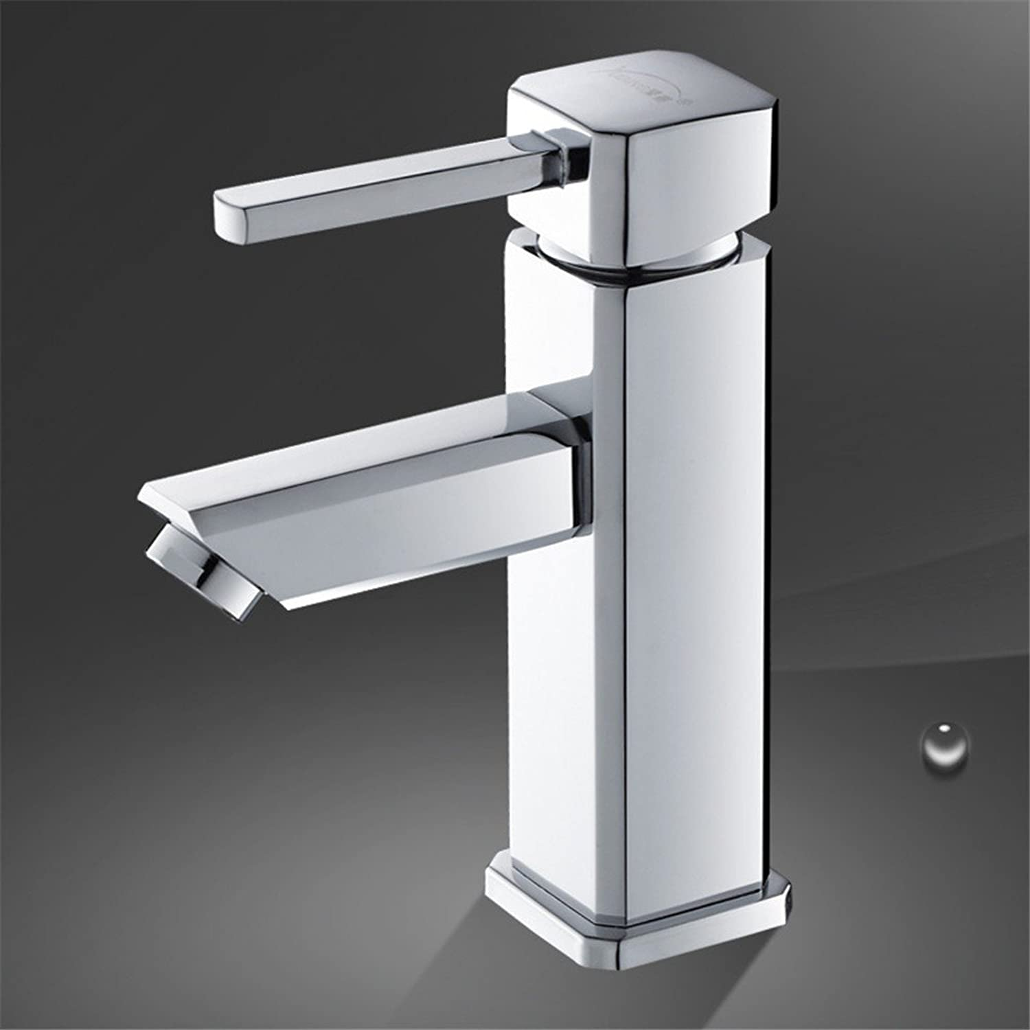 LHbox Basin Mixer Tap Bathroom Sink Faucet The bronze basin mixer SINGLE LEVER SINGLE HOLE faucet and cold water washing basin faucet basin mixer, on the console
