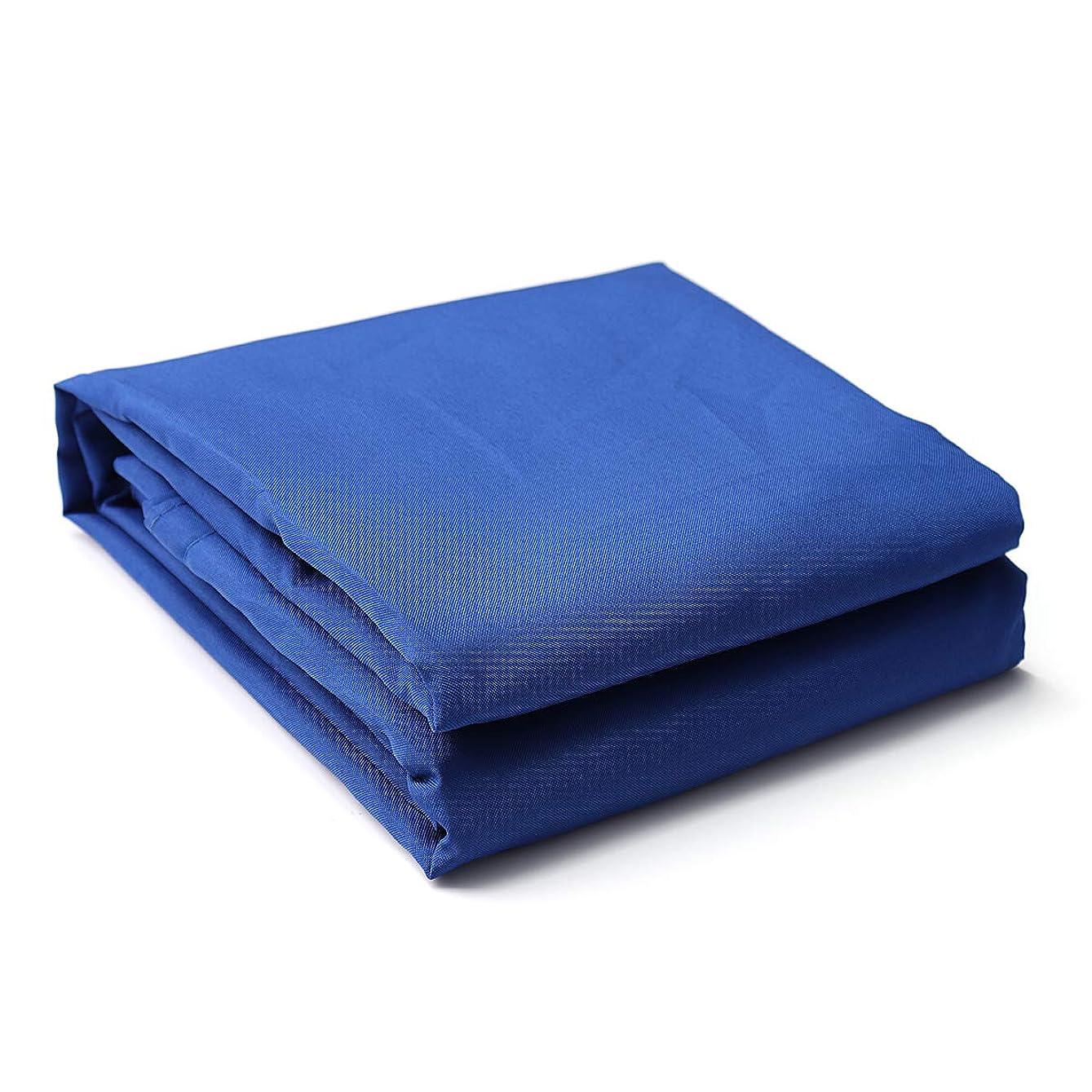 証明書地獄レギュラーKING DO WAY 95%UVカット サンシェード 日除け シェード #高品質ナイロン 160g 長方形ブルー300D 200x400cm