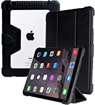 "ProElite Rugged Shockproof Armor Smart flip case Cover for Apple iPad 9.7"" 2017 2018 5th Gen/6th Gen Air 1 Air 2 Pro 9.7 (A1893/A1954) with Pencil Holder"
