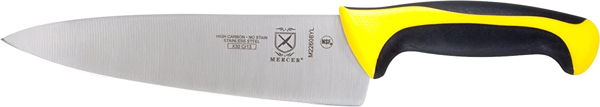 Mercer Culinary Millennia 8-Inch Chef's Knife, Yellow