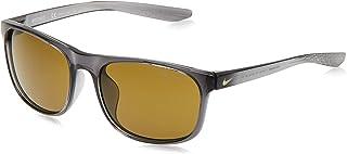 NIKE Unisex ENDURE E CW4651 Sunglasses Rectangular Lifestyle Essentials - Dark Grey/Lt Bone/Terrain Tint