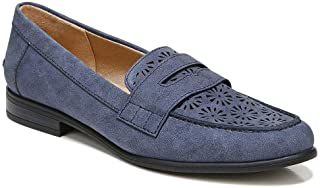 LifeStride Women's Madison Perf Loafer, Navy, 9.5 Wide