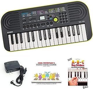 Casio SA46 Keyboard bundle with Casio Power Supply, John Tho