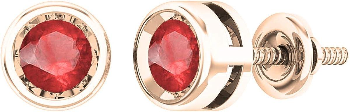 Dazzlingrock Collection Round Gemstone Ladies Rubover Diamonds Portland Ranking TOP17 Mall