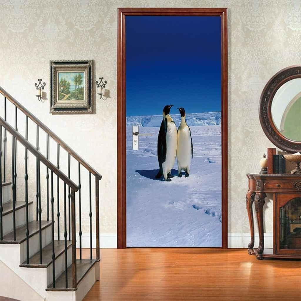 Don't miss the campaign KFEOEA 35% OFF Door Stickers for Kids Room Art Interior Wall Doors Mura