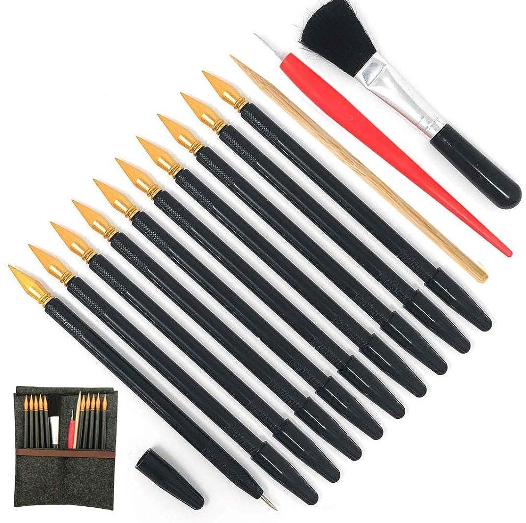 Scratch Tools, Scratch Color Pen Dual Tip Scratch Coloring Stylus Paper Art Set for for Adult Kids Painting Art 14 PCS