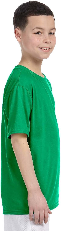 Fashion Gildan 42000B Youth Core Performance T Shirt Irish Green X-Small
