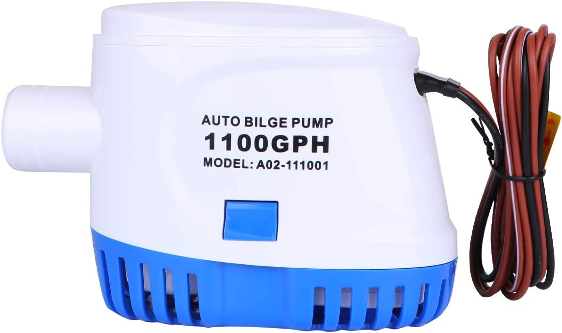 12V 1100GPH New Orleans Mall Boat Marine Automatic Bilge Submersible Auto Switch Regular discount