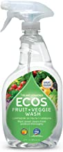 Earth Friendly Products Fruit and Vegetable Wash, 22 Ounce (Pack of 2)