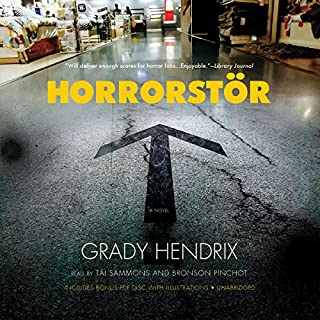 Horrorstör audiobook cover art
