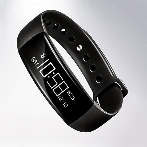 FLY Bracelet De Sport Intelligent Bracelet De Surveillance De La Pression Artérielle Bracelet De Sport Intelligent étape Bracelet étanche Montre Intelligente (Couleur   noir)