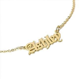 Collana con nome - Collana con nome - Collana con nome inglese antico - Collana personalizzabile - Gioielli personalizzati