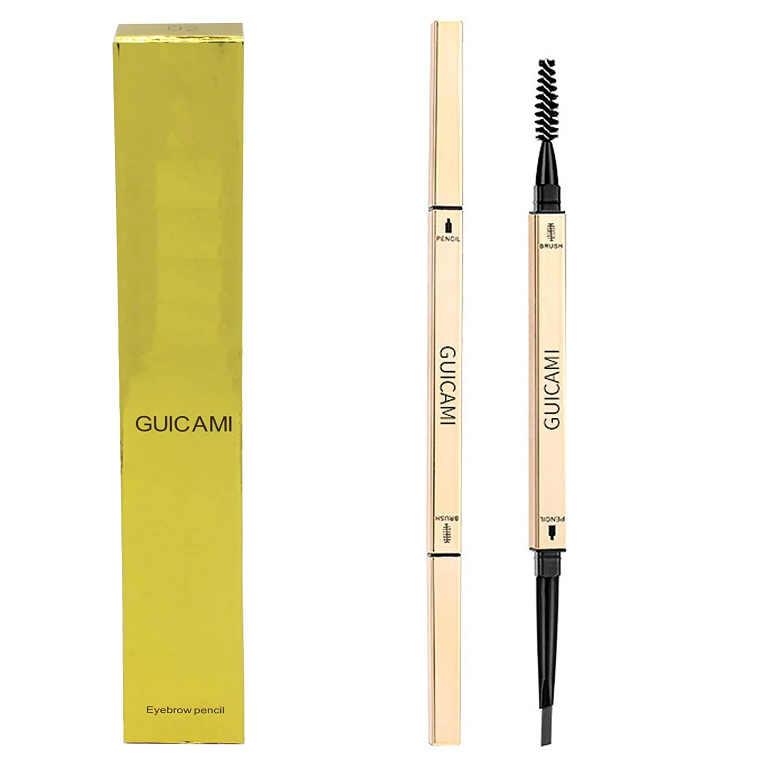 Eyebrows Pencil Waterproof With Dual Fi Ends Max 67% OFF Brown SEAL limited product Dark Eyebrow