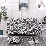 Universal Estiramiento Funda Sofá de 1 2 3 4 plazas, Morbuy Moderno y Sencillo Sofá Cubre Furniture Protector Antideslizante Elastic Soft Sofa Couch Cover (Funda de Almohada * 1,Sinuoso)