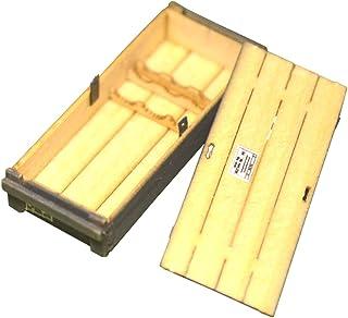 コバアニ模型工房 1/35 フロントラインシリーズ タイガー1用56口径 8.8cmkwk36 戦車砲弾用弾薬木箱 2個入り 組み立てキット FS-079