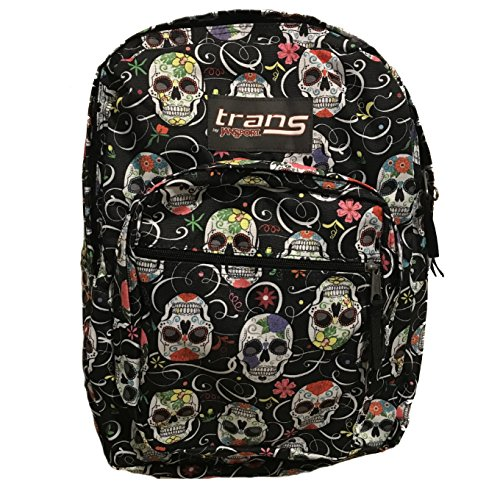 JanSport Sugar Skulls / Dia De Los Muertos Back Pack Laptop Sleeve