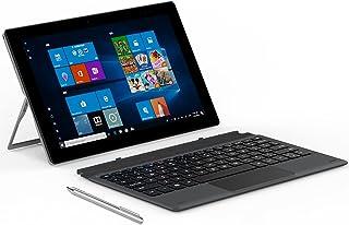 """ALLDOCUBE iWORK20タブレットPC、キーボード付き2-in-1ラップトップ、10.1 """"タブレット、Intel N4020 CPU、4GB RAM / 128GB ROM、Windows 10、Type-C、HDMIをサポート、ス..."""