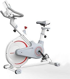 MGIZLJJ Exercise Bike Indoor Cycling Bike Adjustable Stationary Bicycle for Home Gym Workout Cardio Bikes Upright Bike Hom...