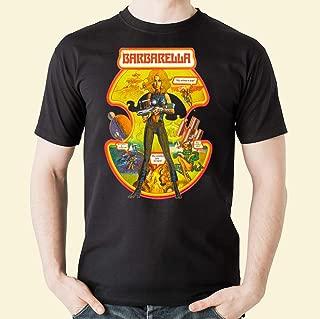 Barbarella - Poster Classic Science Fiction Cult Movie 5 Men's Tee Shirt