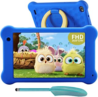 AEEZO Kids Tablet 7 inch WiFi Android 10 Tablet PC 2GB RAM 32GB ROM, 2020 New FHD 1920x1200 IPS Screen, Parental Control, ...