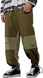 Irypulse Unisex Cargo Pantalones Combate Trousers Empalmado Flojo Táctico Pants para Hombres Mujeres Jóvenes Otoño Invierno